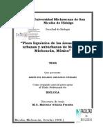 FLORALIQUENICADELASAREASVERDESURBANASYSUBURBANASDEMORELIAMICHOACANMEXICO.pdf