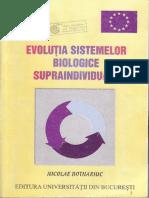 Evolutia Sistemelor Biologice-Nicolae Botnariuc