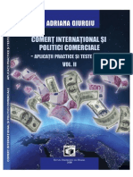 GIURGIU Adriana Comert International Si Politici Comerciale Aplicatii Practice Si Teste Grila CONTINUT Final