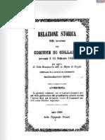 Brigantaggio Relazione Invasione Comune Di Collalto Risorgimento