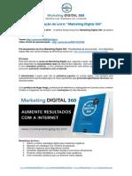 PR Pré-lançamento Livro Marketing Digital 360