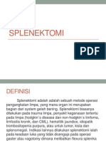 9. splenektomi