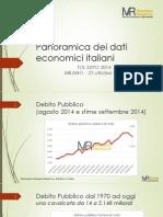 Mazziero TOL2014 - Panoramica Dati Economici Italiani