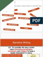 lesson 4 yr 9 narrative