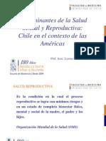 TEMA 3 DETERMINANTES DE LA SALUD  SR - CHILE EN EL CONTEXTO DE LAS AMERICAS.ppt
