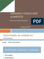 3. Umidade e Cinzas nos alimentos.pdf