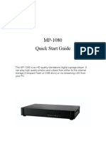 MP1080 User Guide