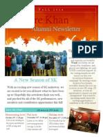 sk newsletter fall 2014