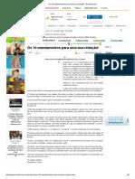 Os 10 mandamentos para uma boa redação! - Brasil Escola.pdf