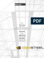 ConSteel Verification Manual