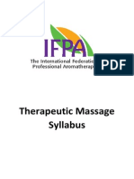Shirley Price Therapeutic Massage Syllabus