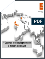 Full Year 2011 Results Presentation 2