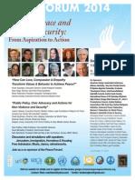 Peace Forum 2014