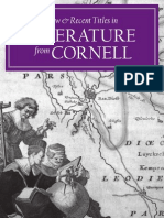 Cornell University Press 2009 Literature Catalog