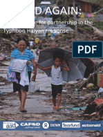 Missed Again - Making Space for Partnership in the Typhoon Haiyan Response , 2014