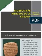 Los libros más antiguos de la historia.pptx