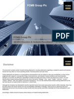 FCMB Group Plc 3Q13 (IFRS) Group Results Investors & Analysts Presentation