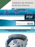 Instalación de refractarios en Hornos de Arco Eléctrico.pdf