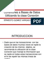 Conexiones a Bases de Datos 2013