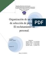 trabajo de tecnica reclutamiento y seleccion de la Unidad III y IV.docx
