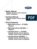 2000 ford ranger xlt 4x4 owners manual