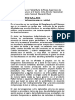 Informe presentado por Fatima Muriel de Florez