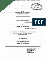 Allen Stanford's Revised Appeal
