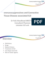 Immunosuppressives & Connective Tissue Disease associated ILD