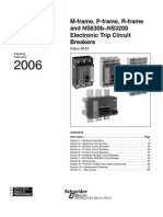 Schneider Electric - Powerpact Breakers M P R Catalog