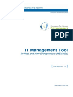 Erasmus IT Management Tool User Manual - For HEs and NEs