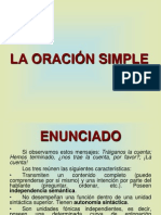 LA ORACIÓN SIMPLE. CORVERA.ppt