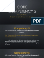 core competency 5
