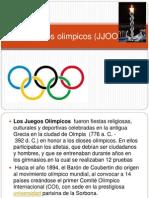 Juegos olimpicos (JJOO) ppt.ppt