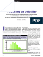 Active Trader Magazine - Article - Focusing on Volatility - August 2005