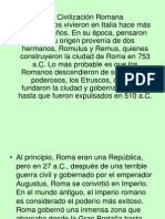 Presentacion civilizacion romana epoca antigua 3° básico 2014.ppt