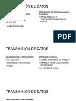 Transmisión de Datos Resumen