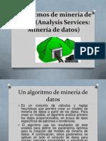 Algoritmos de minería de datos (Analysis Services.pptx