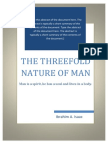 The Threefold Nature of a Man