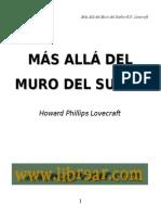 Hp Lovecraft - Mas Alla Del Muro Del Sueño