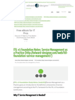 ITIL v3 Foundation Notes