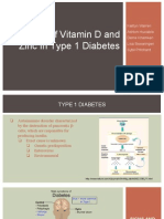 Roles of Vitamin D and Zinc in Type 1 Diabetes (2)
