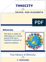 ethnicity presentation weebly