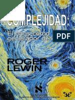 [Metatemas 041] Lewin, Roger - Complejidad [9989] (r1.2 koothrapali).pdf