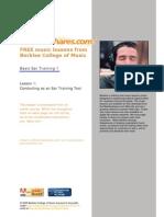 Berklee Ear Training Conducting