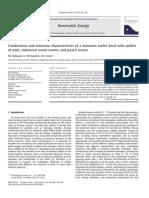 Características de combustión y emisiones de una caldera doméstica alimentadas con pellets de pino, desechos industriales de madera y huesos de melocotón.pdf