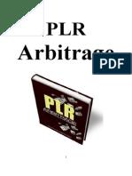 PLR Arbitrage