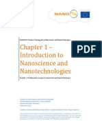 Introduction to Nanoscience and Nanotechnologies