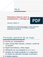 Formato MLA ITESM
