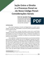 A Relação Entre o Direito Penal e o Processo Penal no Projeto do Novo Código Penal