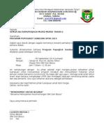 contoh Surat Jemputan program